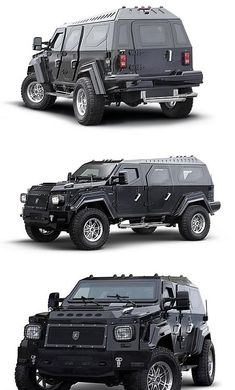 Totally unneccessary and totally cool. Knight XV Armored SUV