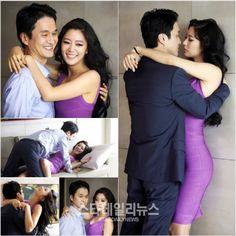 장현성 (Jang Hyun-sung) and 클라라 (Clara) in [결혼의여신] (Goddess of Marriage)