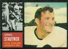 1962 Topps #134 Ernie Stautner Front