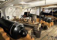The Lower Gun Deck | HMS Victory