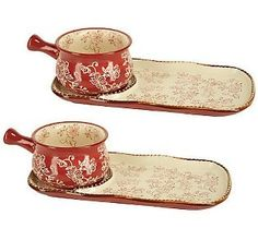 """""""As Is"""" Temp-tations Floral Lace Soup and Sandwich Set Best Online Shopping Sites, Soup And Sandwich, 2 Set, Kitchen Items, Qvc, Floral Lace, Really Cool Stuff, Tea Cups, Pottery"""