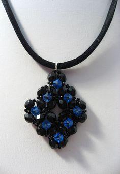 Diamond Blue Pendant