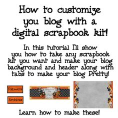Learn to Customize Your Blog at Gotta Pixel. www.gottapixel.net/
