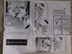Original 1984 DISNEY SONG OF THE SOUTH Uncle Remus Brer Rabbit Fox Theater Sheet