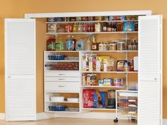 14 Best Kitchen With Freestanding Pantry images | Kitchen ...