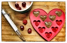 Making cherry chocolates  #chocolate #making chocolates #valentines treats