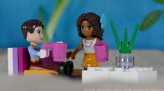 Picture from my first stop-motion Video with LEGO-Friends figures. Video may be watched on Youtube youtu.be/4kyn4AKds7w