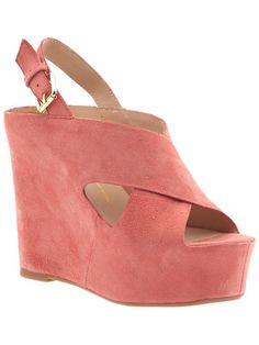 DOLCE VITA Julie High Wedge Sandals