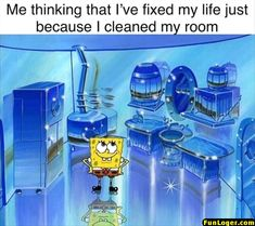Goof off at work and give yourself a break and browse some freshly collected memes. Funny Spongebob Memes, Stupid Funny Memes, Funny Relatable Memes, Haha Funny, Funny Posts, Hilarious, Funny Stuff, Funny Minion, Funny Gifs