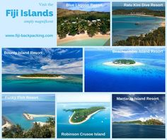 There are many beautiful islands in Fiji - see some of our member resorts - check the website for specials and more info.