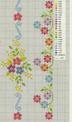 Cross Stitch Letters, Cross Stitch Borders, Cross Stitch Samplers, Modern Cross Stitch, Cross Stitch Flowers, Cross Stitching, Cross Stitch Embroidery, Embroidery Patterns, Funny Cross Stitch Patterns