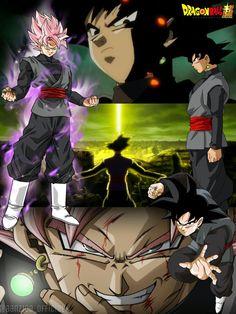 Black Goku _ Dragon Ball Super _ DBS by AlAnas2992