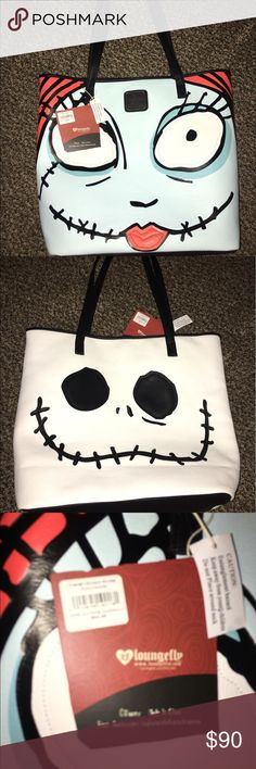 🌟BRAND NEW🌟DISNEY JACK AND SALLY LARGE PURSE Brand New  Authentic  WITH Tags    Fees Included in price  Look at pictures please If you need additional pictures let me know 🚫NO TRADES🚫 🚫No Shipping on the Weekends🚫 Serious Buyers Only  THANK YOU Disney Bags Shoulder Bags