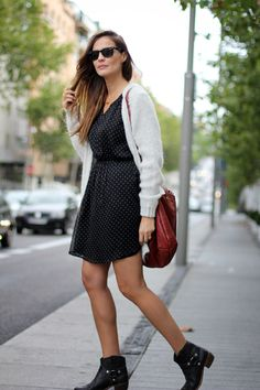 maxi cardigan | Lady Addict en stylelovely.com