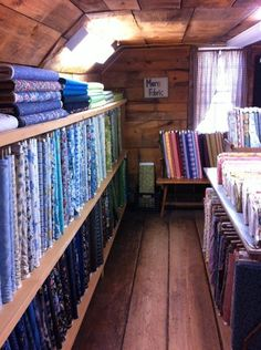 A modern aesthetic thrives at Waterwheel House Quilt Shop in ... : calico house quilt shop - Adamdwight.com