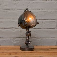 Decoration Archive SIlverstone lamp   #industrial   http://www.homesofelegance.co.uk/