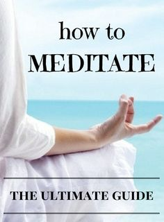 Learn how to meditate with this ultimate guide Health And Beauty, Health And Wellness, Health Tips, Health Fitness, Learn To Meditate, Positive Inspiration, Mind Body Soul, Mindfulness Meditation, Weight Loss For Women