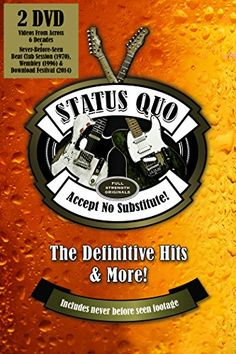 From 8.00 Status Quo: Accept No Substitute - The Definitive Hits [dvd]