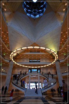 I.M. Pei.  Museum of Islamic Arts. Doha, Qatar.