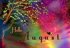 hello august - Google Search Seasons Months, Days And Months, Months In A Year, 1 Year, 12 Months, Free Printable Calendar Templates, Printable Calendar 2020, August Baby, August Month