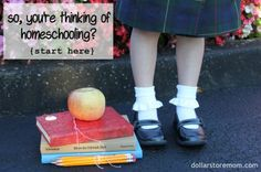 thinking about homeschooling? no clue where to start? START HERE.