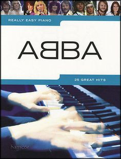 Really easy piano abba #sheet #music book #songbook 25 great pop hits,  View more on the LINK: 	http://www.zeppy.io/product/gb/2/331411572538/