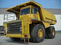 Good price dumper Euclid R65 Second Hand. Manufacture year: 1995. Working hours: 26792. Weight: 41000 kg. Excellent running condition. Ask us for price. Reference Number: AC985. Baurent Romania.