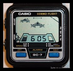 Casio COSMO-FLIGHT