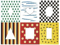 Подбери заплатку   Радуга Shape Games, Kids Patterns, New Print, Pattern Blocks, Matcha, Puzzle, Kids Rugs, Shapes, Teaching