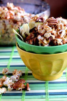 Caramel Apple Popcorn Snack Mix