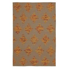 Hacienda Rug in Paprika (Geometric Pattern, Flatweave Rugs) | Handmade Area Rugs from Company C