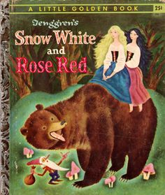 my vintage book collection (in blog form).: Snow White and Rose Red - illustrated by Gustaf Tenggren