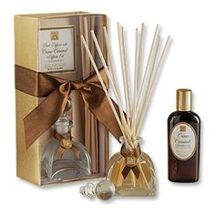 Creme Carmel Reed Diffuser with Diffuser Oil