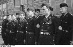 Ukrainische Hilfspolizei pictured in 1943, Bundesarchiv