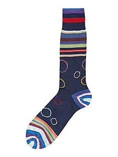 Paul Smith London Darwin circles sock http://ow.ly/qw2fl