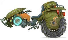 Exile Speeder from WildStar