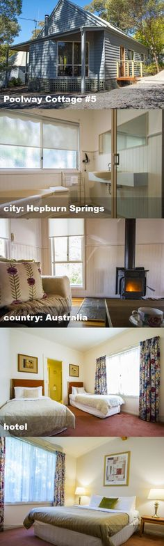 Poolway Cottage #5, city: Hepburn Springs, country: Australia, hotel Australia Hotels, Loft, Cottage, Country, City, Bed, Furniture, Home Decor, Decoration Home