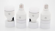 Die Lifx LED-Lampe wirkt im Vergleich zu Philips Hue und Osram Lightify etwas klobig.