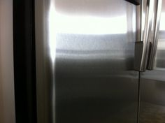 Clean your stainless appliances with what???
