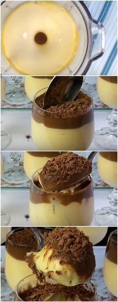 SOBREMESA CHOCO-MARA! SIMPLESMENTE DIVINAAAAA! (veja a receita passo a passo) #sobremesa #chocomara