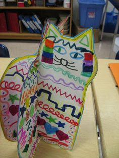Sharpiewoman: I Love Laurel Burch and Cats!