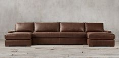 Maxwell Leather Sectionals | RH Leather Sectional Sofas, Leather Sofa, Couches, Sleeper Sofa, Restoration Hardware, Service Design, New Homes, Living Room, Collections