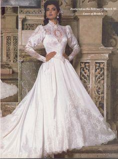Feb Mar 1986 Brides magazine