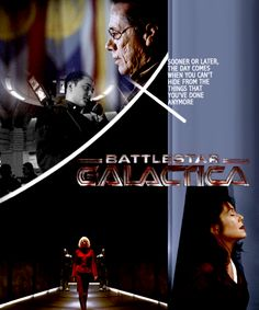 Sooner or later, the day comes when you can't hide from the things that you've done anymore. #bsg