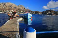 Telendos island. Dodecanese, Greece