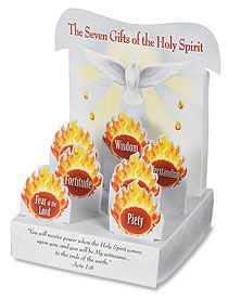 CGC Gift Shop: Gifts of the Spirit Stand-Up Easter Countdown, Countdown Calendar, Teaching Supplies, Classroom Supplies, Calendar Activities, Book Activities, Liturgical Seasons, Apostles Creed, Confirmation Gifts