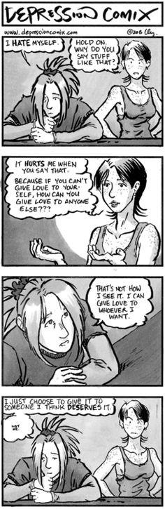 depression comix #127View Post