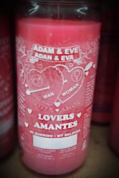 Adam & Eve 14 Day Candle - Candela de Adan & Eva #candlemagic #adam&eve #wicca #witchcraft #candlemagic #witchspells #voodoo #hoodoo Candle Spells, Candle Magic, Voodoo Hoodoo, Wicca Witchcraft, Positive And Negative, Adam And Eve, Positivity, Candles, Day
