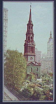 St. Paul's Church, New York