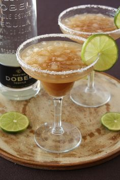 Tamarind Margarita. I'm making this at an event I'm bartending this weekend. I'll have to try a sip.
